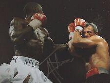 Jonny Nelson-ancien champion du monde-superbe photographie Couleur Signée action