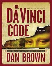 Da Vinci Code Signed Author Dan Brown Special Illustrated Edition 1st Edition.
