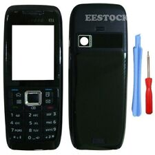 New Black Fascia Full Housing Case Cover Faceplate Keypad for Nokia E51 +Tools