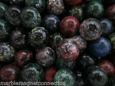 """MARBLE BULK LOT 2 POUNDS OF 5/8"""" GALAXY MULTI COLOR MEGA MARBLES FREE SHIPPING"""