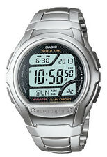 Casio WV58DA-1A Men's Waveceptor Metal Band Multi Band Atomic Watch