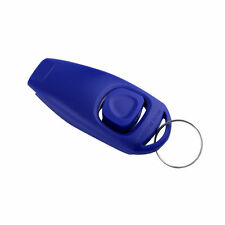 Dog Puppy Training Clicker Obedience Trainer Pet Click & Whistle Agility EA