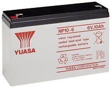 YUASA 6V 10AH comme 12AH Batterie Voiture Jouet électrique Vélo Feber Peg Perego