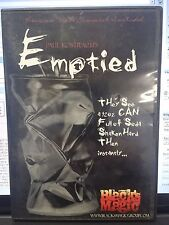 PAUL KOSTRACH DVD PRESENTS EMPTIED BLACK MAGIC TRICK