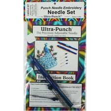 Ultra Punch Needle Embroidery 3 Needle Set-Large, Medium and Small