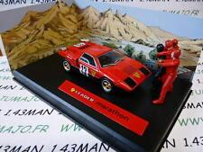voiture altaya IXO 1/43 diorama MICHEL VAILLANT : LEADER MARATHON n°5