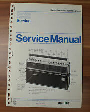 Radio-Recorder 22RR645 Philips Service Manual Serviceanleitung