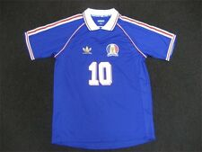 Adidas Polo Futebol France Jersey T-Shirt Blue White Red XL D86482 MSRP $50.00