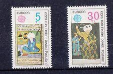 Cipro Turca 1980 Europa personaggi celebri 73-74  Mnh