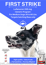 Generic Program, Flea Control for Dogs 30 to 60 pounds, 12 Flavored Capsules