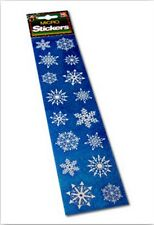 CHRISTMAS MICRO SNOWFLAKE (SET 1) STICKERS FOR CARDS AND CRAFTS