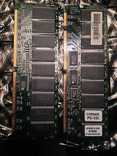 512MB CORSAIR SDRAM 133MHZ PC-133 168PINS DIMM ECC Registered CM766S512-133/S