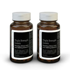 Triple Strength Lutein - 6 months supply - 30mg Lutein & 1000mcg Zeaxanthin