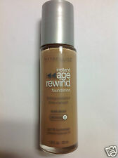 Maybelline Instant Age Rewind Foundation PURE BEIGE (Medium-2) Silver Color Cap.