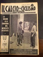 Il calcio e il ciclismo illustrato 1965 N° 30 Gimondi vince il Tour  23/6