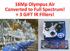 Olympus AIR 16Mp camera converted to REAL FULL SPECTRUM UV+Vis + 3 IR filters