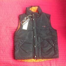 "Men's Designer Schott N.Y.C. Reversible Body Warmer 42"" Chest Bnwt"