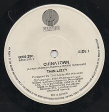 "THIN LIZZY   Rare 1980 Aust Only 7"" Mint OOP Vertigo Rock Single ""Chinatown"""