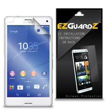 5X EZguardz NEW Screen Protector Cover HD 5X For Sony Xperia Z3 Mini (Compact)