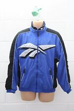 VINTAGE REEBOK 1990s TRACKSUIT TRACKY TOP SHELL SUIT JACKET CLASSIC M SS50B