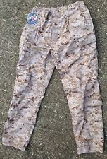 USMC DESERT MARPAT COMBAT TROUSER PANTS, FROG DEFENDER M, LARGE - REGULAR, NEW