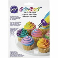 Wilton Colour Swirl Coupler Cake Cupcakes Icing Tip Nozzle Decorating Decorator