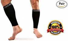 Copper Compression Calf / Shin Splint Recovery Leg Sleeves, #1 GUARANTEED + For