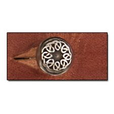 "Button Stud 8mm (5/16"") Screwback Celtic 11310-51 by Tandy Leather"