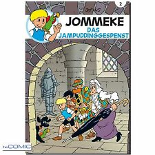 Jommeke 2 Das Jampuddinggespenst Peter + Alexander Jef Nys  70er  Kindercomic