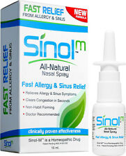Sinol All Natural Nasal Spray - Fast Allergy and Sinus Relief 15ml