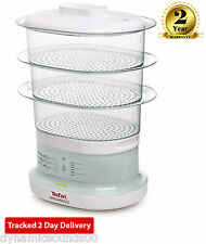 Tefal VC130115 7-Litre Capactiy 3 Tier Electric Food Steamer In White