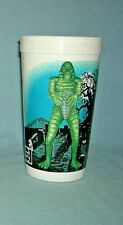 Vintage Getty Mart Universal Monster Drink Cup Creature From the Black Lagoon