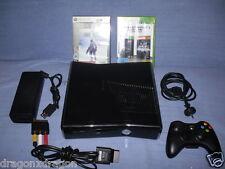 Microsoft XBOX 360 Slim 250GB, 2 Spiele, 2J. Garantie