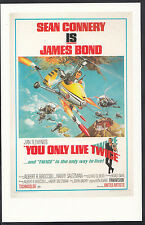 James Bond 007 Movie Postcard - US Poster For You Only Live Twice  DP24