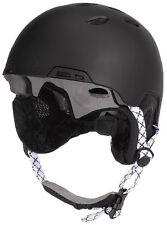 PROTECTION Justicier Snowboard/Casque Ski Noir XL/59cm 60cm BOA COMPATIBLE AVEC