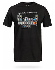 Camiseta Minecraft Tabla Periodica XL