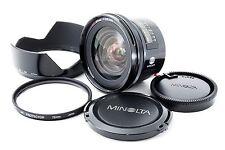 Minolta AF 20mm f/2.8 Lens for Sony Alpha Excellent+++ Free Shipping 154874
