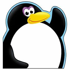 Fun Shaped Note Pad - Penguin - Ideal for School Teachers - Offices, Partys