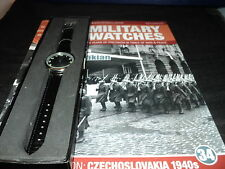 Eaglemoss Military Watches  Issue 34 - Czechoslovakian Soldier's Watch 1940s.