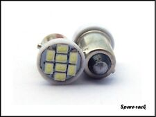 8 LED Parking / pilot Bulb FOR ROYAL ENFIELD BULLET - WHITE - 2 pc