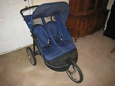 Baby Trend Double Jogger ~ Two Child Toddler ~ Compact Fold Safety