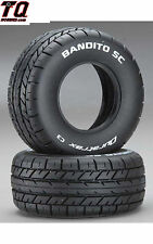 Duratrax Bandito SC On-Road Tires C3 2 DTXC3798 Fast ship + track#