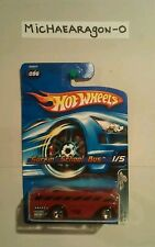 HOT WHEELS 2005~#96 SURFIN SCHOOL BUS~RED LINES~RED