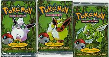 POKEMON JUNGLE SET 1ST EDITION BOOSTER PACKS ENGLISH FACTORY SEALED NEW 1x PACK