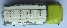 Lesney Matchbox No. 25 Bedford BP Petrol Tanker - paint well worn off in places.