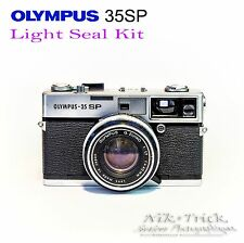 Olympus 35SP ~ Lazer Cut Replacement Light Seal Kit ~ Enough for 3x Cameras!