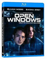 Open Windows (Blu-ray, 2015, Canadian) Sasha Grey, Elijah Wood