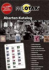 Philotax Plaatfouten Duitse Rijk Plattenfehler Reich plate varieties catalogue