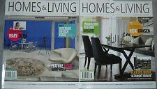 Homes & Living Magazine X2 Aug/Sept 2012 and Oct/Nov 2012 Mary Zilba Rick Hansen