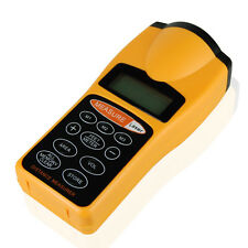 Ultrasonic Tape Measure Distance Meter/Measurer & Laser Pointer Range Finder UK